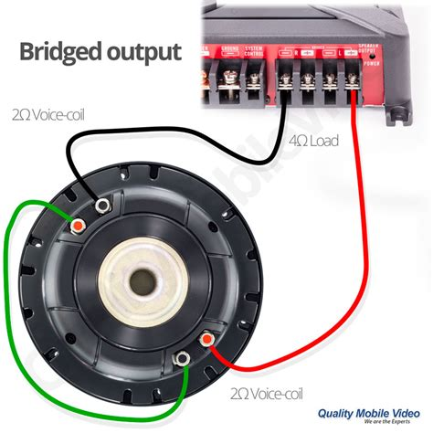 Subwoofer Impedance Amplifier Output Quality Mobile