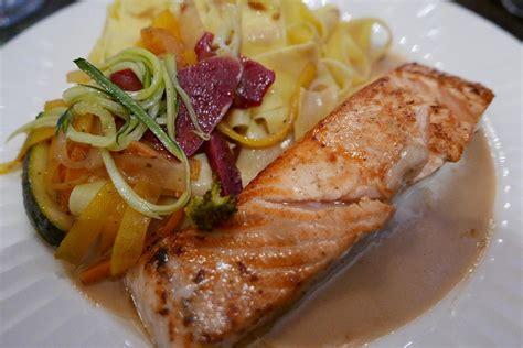 cuisine fut馥 saumon saumon et tagliatelle