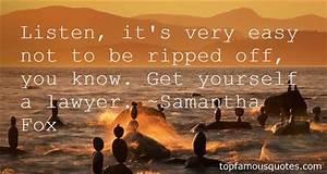 Samantha Fox qu... Samantha Harris Quotes