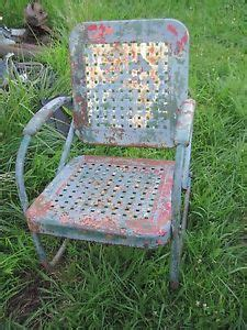 fashioned metal lawn chairs on popscreen