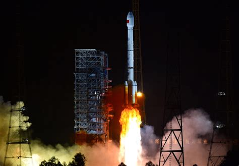 China launched its long march 5b rocket. A falling rocket booster just completely flattened a building in China - MIT Technology Review