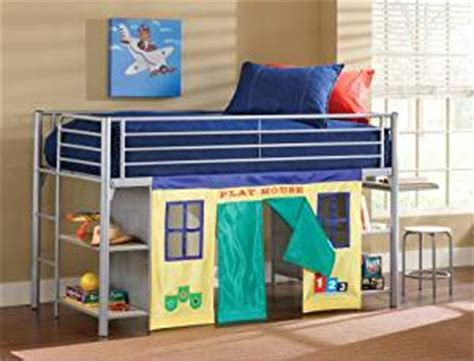 amazon loft bed with desk amazon com universal junior loft bed w desk and stool