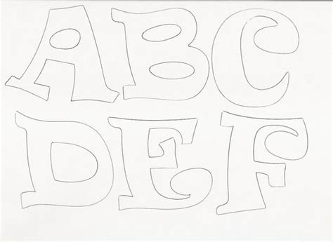 moldes para hacer letras en goma imagui letras paraimprimir manualidades