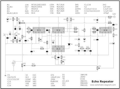 echo chamber circuit schematic