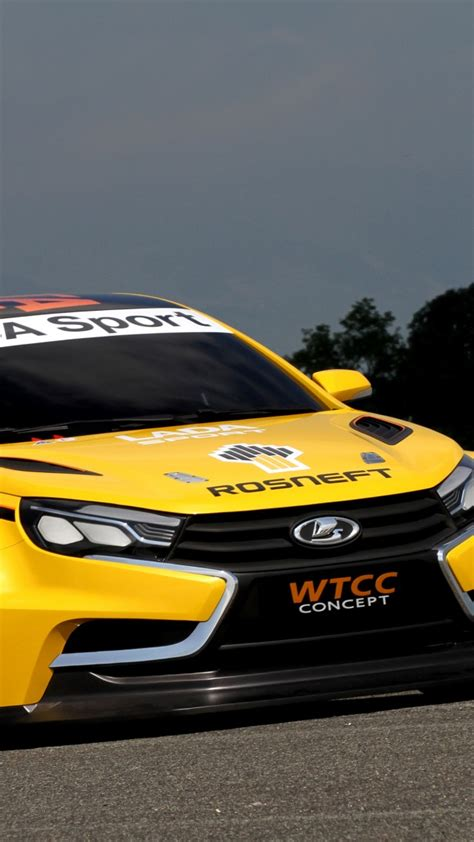 wallpaper lada vesta wtcc sports car lada vesta review