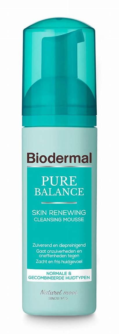 Mousse Cleansing Balance Pure Renewing Skin Biodermal