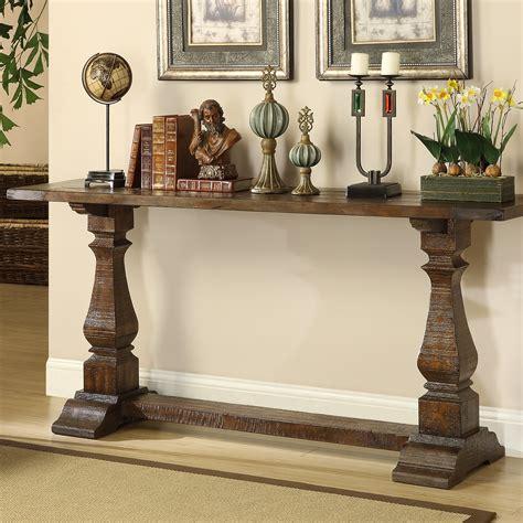 allium  louise console table  brown reviews