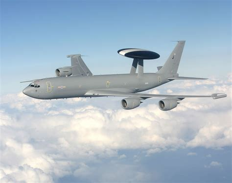 © Royal Air Force - E-3D Sentry AWACS RAF during a mission ...