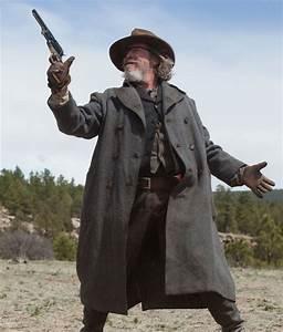 Rooster Cogburn Coat Jeff Bridges True Grit Trench Coat