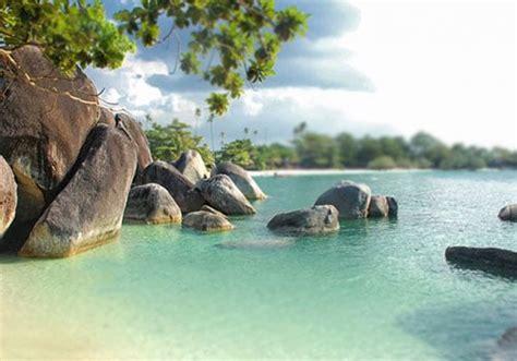 tanjung kelayang beach  belitung island
