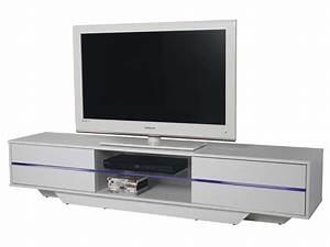Meuble Tv Suspendu Conforama : meuble tv blues coloris blanc vente de meuble tv conforama ~ Dailycaller-alerts.com Idées de Décoration