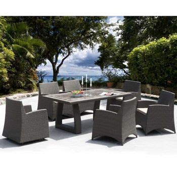 costco hton 7 patio dining collection by sirio