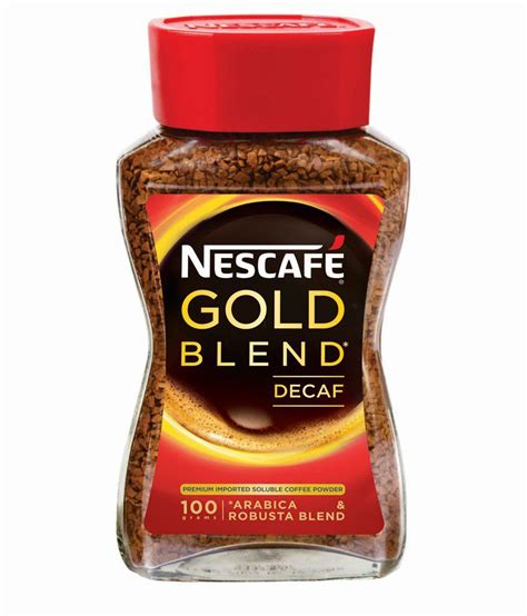I love smelling the aroma of coffee early in the morning. Nescafe Gold Decaff Coffee Powder Jar - 100 gm: Buy Nescafe Gold Decaff Coffee Powder Jar - 100 ...
