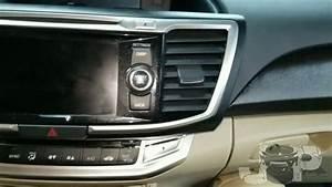 2014 Honda Accord Radio Removal