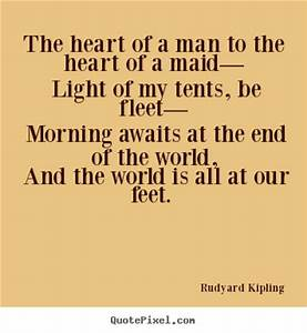 Sayings about love - The heart of a man to the heart of a ...