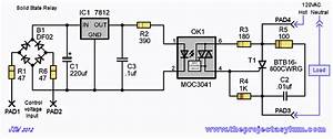 Solid State Triac Relay Schematic And Board Layout