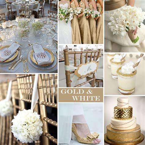 mariage d'hiver or et blanc Anyflowers fr