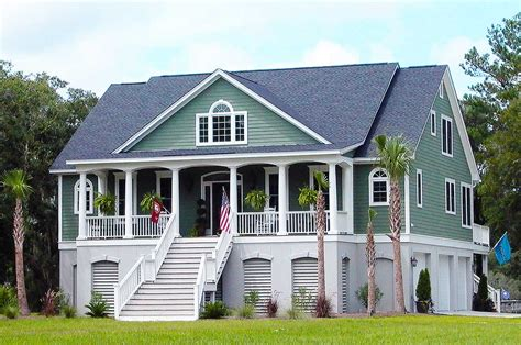 country home plans with photos 3 bedroom low country with media room 9142gu 1st floor