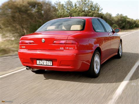 Photos Of Alfa Romeo 156 2.5 V6 Au-spec 932a (2003–2005
