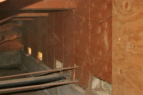 how to repair a basement wall building codes archives tie structural