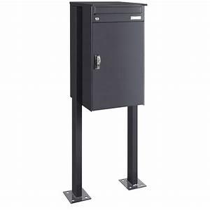 Mülltonnenbox Mit Paketbox : p4 paketbriefkasten mit briefkasten freistehend knobox 5 ~ Michelbontemps.com Haus und Dekorationen