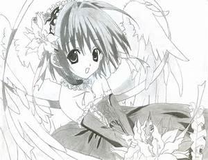Cute Anime Girl Drawings Easy - Hot Girls Wallpaper