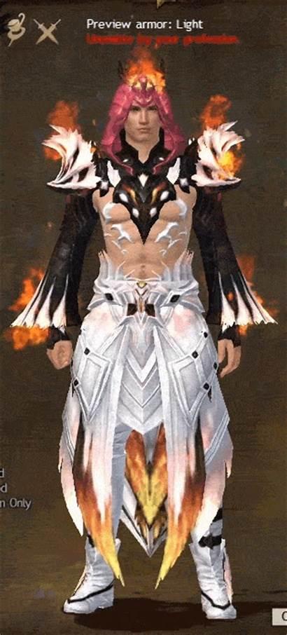Armor Gw2 Remodeled Radiant Hellfire Female Animation