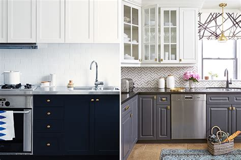 contrasting kitchen cabinets trending now kitchens with contrasting cabinets 2555