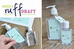 ruff draft making lucky you hand sanitizer printable With hand sanitizer printable label