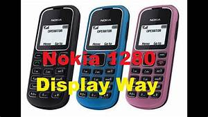 Nokia 1280 Display Way And Light Solution