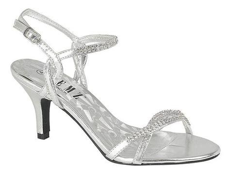 Wedding Sandals : New Women's Bridal/wedding/bridesmaid/prom Diamante Low