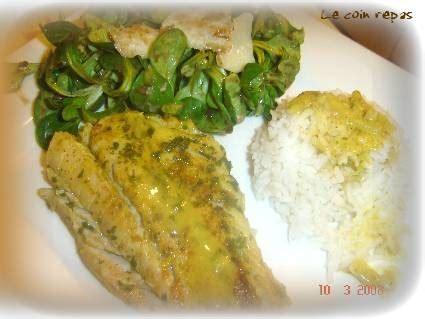 cuisiner du lieu noir filet de lieu noir et sa sauce au curry le coin repas