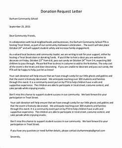 sponsorship request letter sample pdf trinitarium class With sample alumni fundraising letter