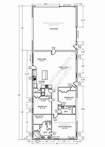 de 25 bedste ideer inden for shop house plans pa With 30x40 metal building homes plans