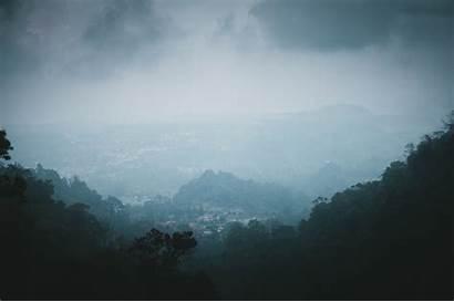 Dark Resolution Sky Mountain Mist Cloud Scenery