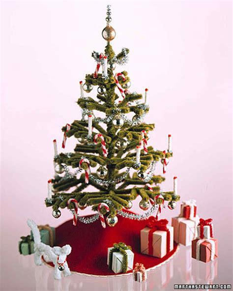 martha stewart tree instructions pipe cleaner decorations tree martha stewart