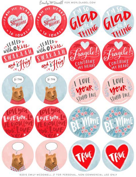 valentines day labels worldlabel blog