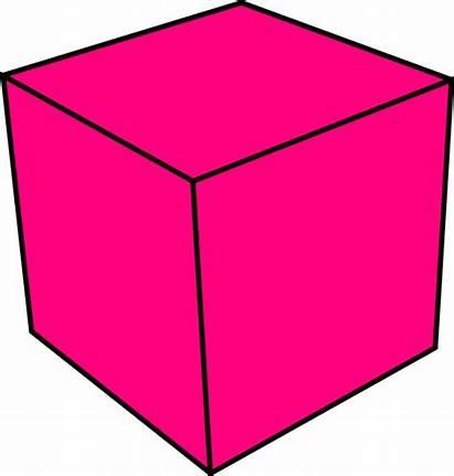 Cube Clipart 3d Clip Ones Cliparts Vector