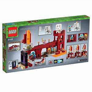 LEGO Minecraft The Nether Fortress 21122 Toys
