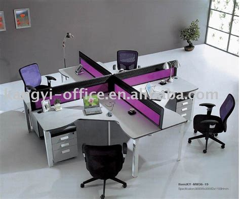 office desks partition separate  style xx interior