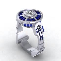 wars wedding rings buy custom droid lte engagement ring inspired by wars made to order from paul michael