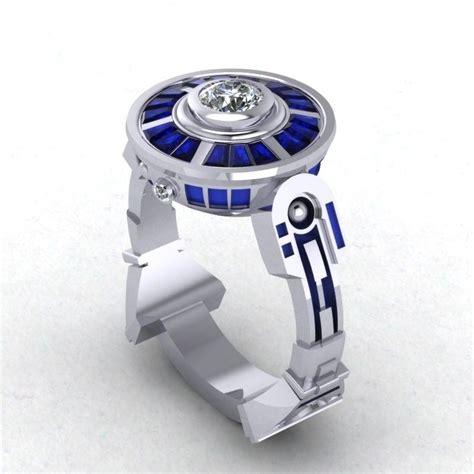 buy custom droid lte engagement ring inspired  star wars