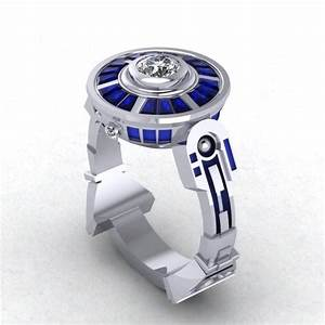 Buy custom droid lte engagement ring inspired by star wars for Star wars wedding rings