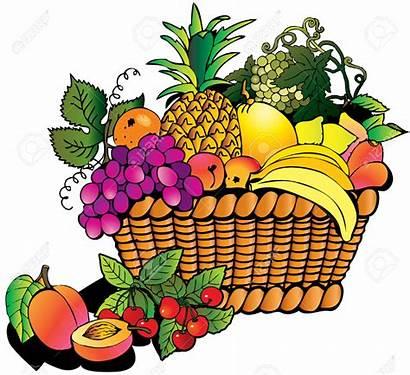 Fruit Clipart Basket Fruits Clip Vegetables Bowl
