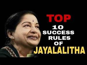 JAYALALITHA - TOP 10 SUCCESS RULES | INTERVIEW | SPEECH ...