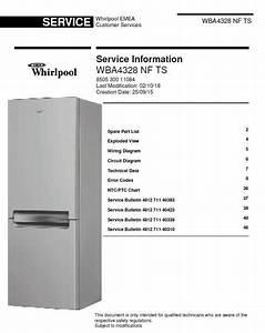 Pin On Whirlpool Refrigerators  U0026 Freezers Service Manuals