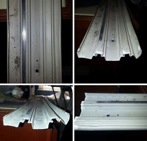 need floor rails stanley monarch closet door mirrors