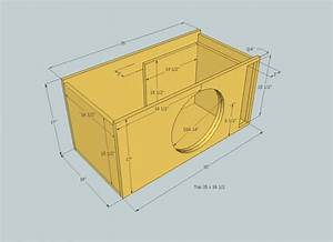 12 Inch Speaker Box Dimensions | Woodworking Project Ideas ...