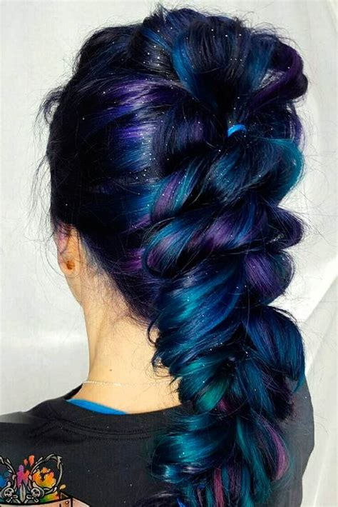 Colors To Dye Hair by 50 Fabulous Purple And Blue Hair Styles Hairstyles