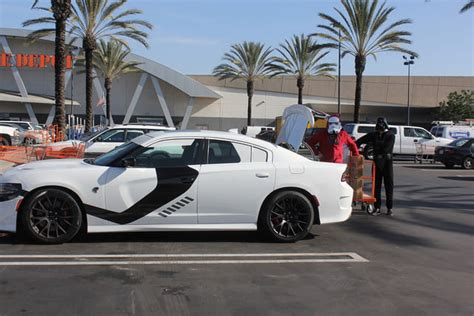 Dodge Charger Stormtrooper by Dodge S 707 Hp Charger Srt Hellcat Wars Edition